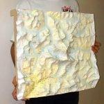 Mount everest Bespoke 3D map