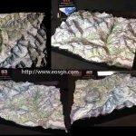 Jungfrau Bespoke 3D map
