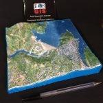 OROVILLE DAM Bespoke 3D map